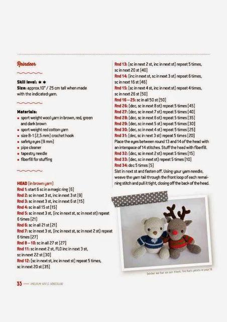 Pin de Erna J em Christmas crochet em 2020 (com imagens) | Padrões ... | 640x452