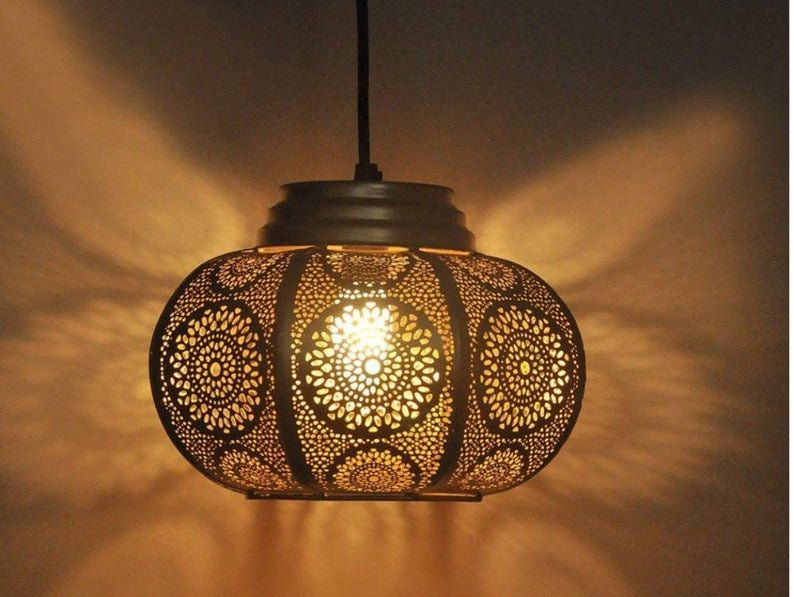 Moroccan Light Ceiling