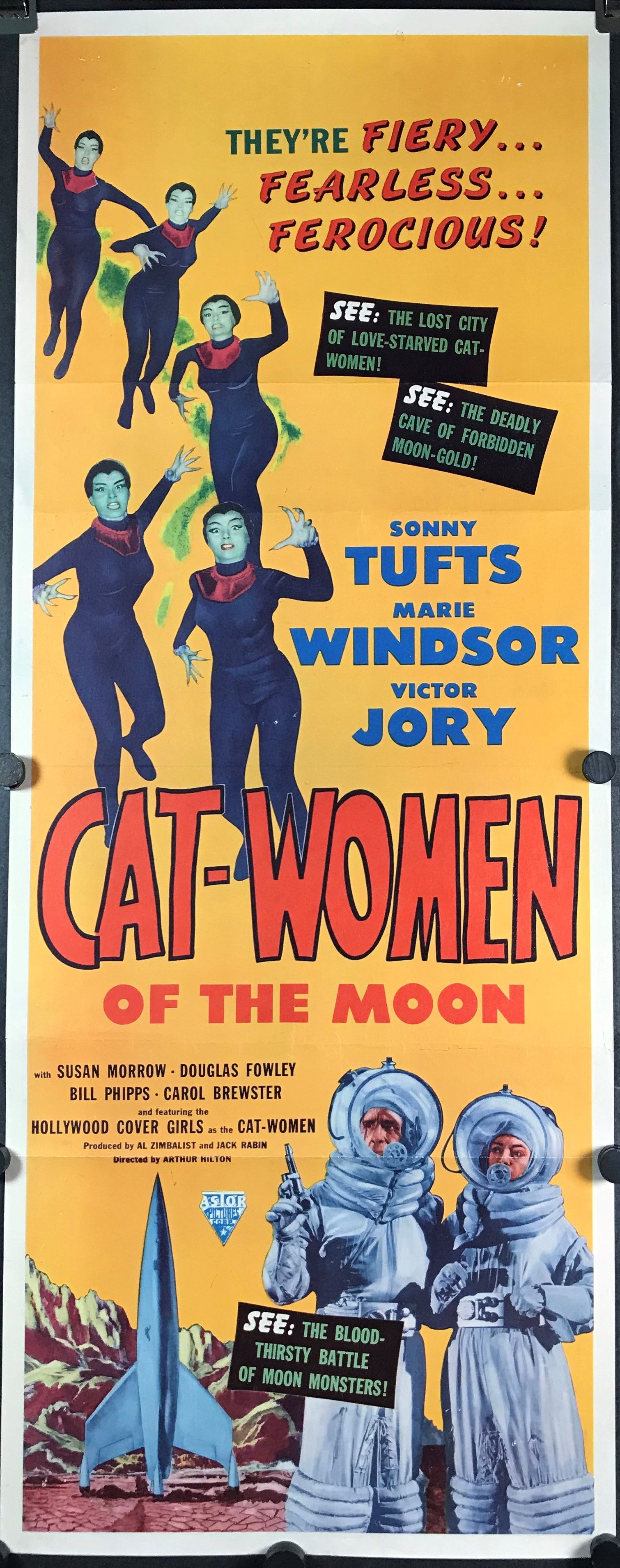 Cat women of the moon 1953 science fiction movie