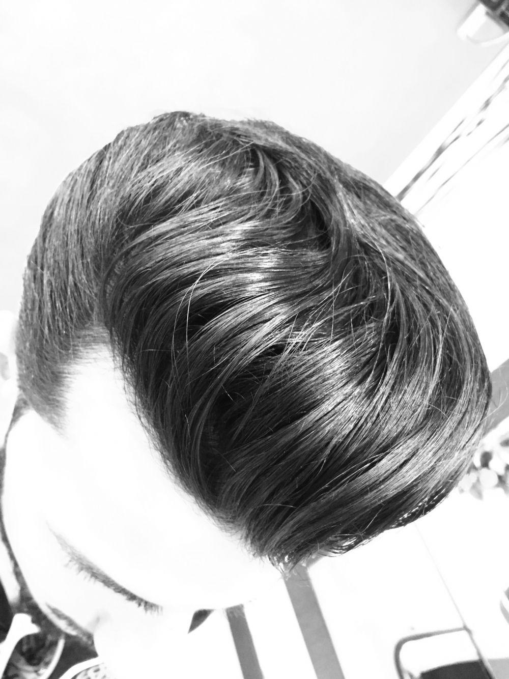 Mens haircut pompadour barbergang haircut precision menshair hair mensfashion barber