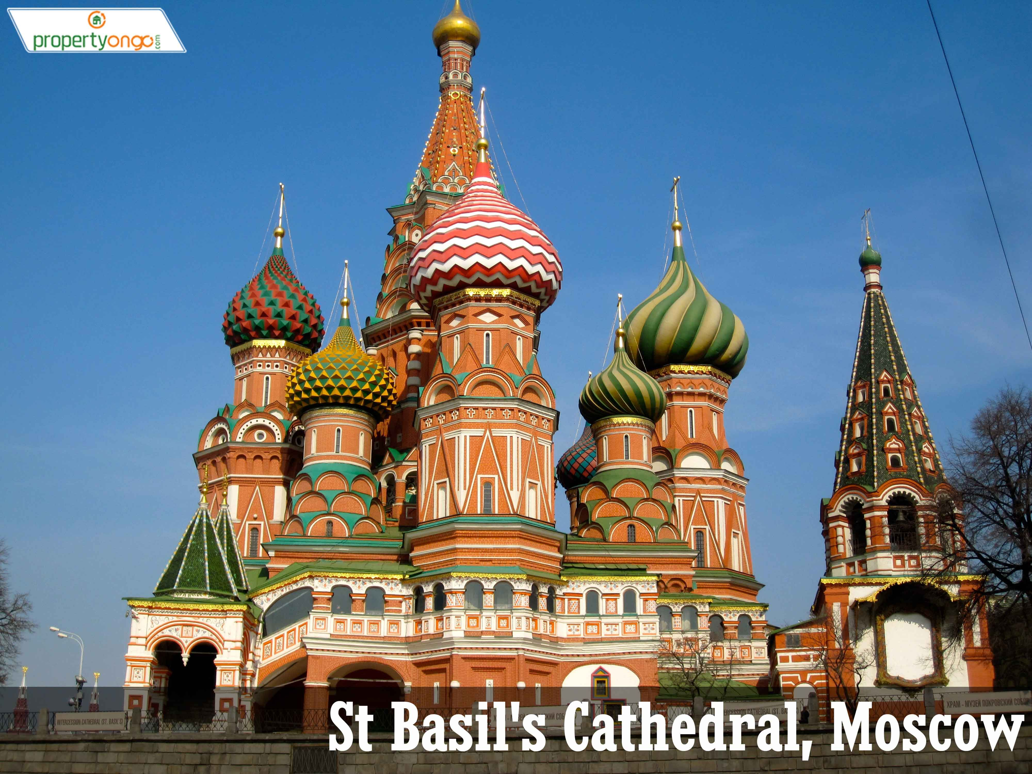 The unique Disney-esque St Basil\u0027s Cathedral in Red Square, Moscow ...