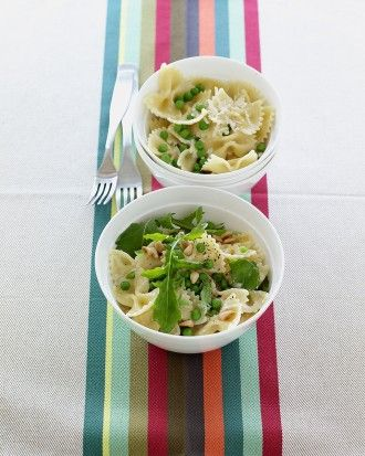 "See the ""Creamy Pasta with Peas"" in our  gallery"