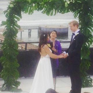 Congratulations Aimy & Hans Petter! #Brooklyn #wedding #newlyweds #justmarried #thewloft #eastriver http://gelinshop.com/ipost/1524682109876033258/?code=BUowk0Cjdbq