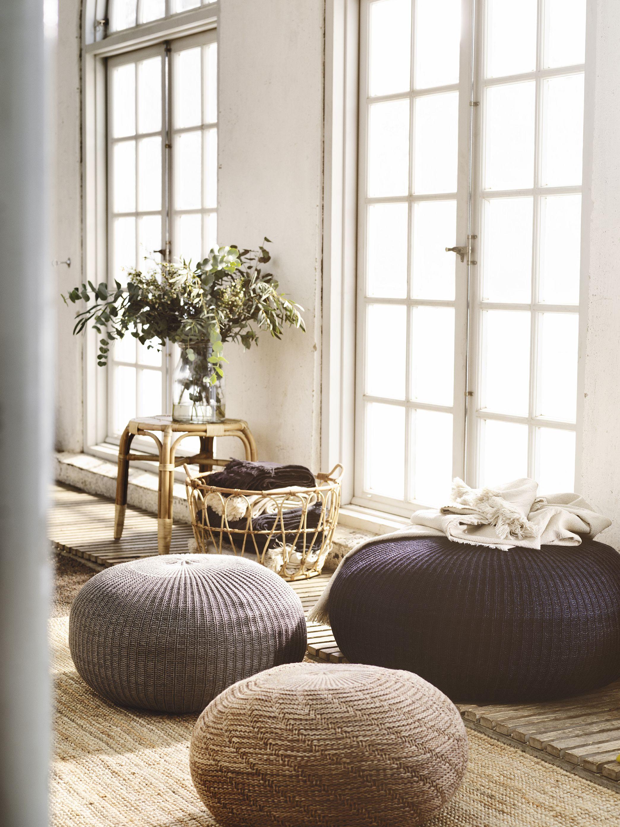 Summer Inspiration 2018 From Ikea  Pouffes