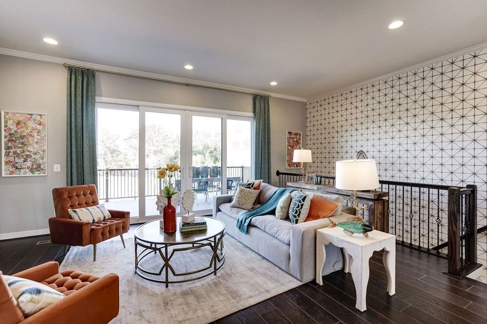 The Fusion Collection By Van Metre New Townhomes In