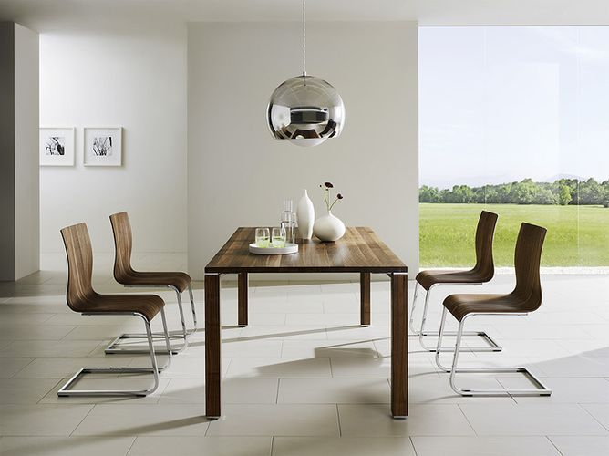 Contemporary Chairs For Dining Room New Team7 Dining Setlove The Lamp The Table The Chairs The Space Review