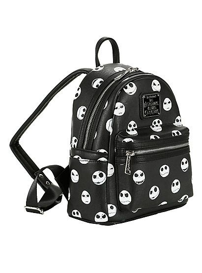 official images lace up in detailed pictures Loungefly The Nightmare Before Christmas Expressions Mini Backpack ...