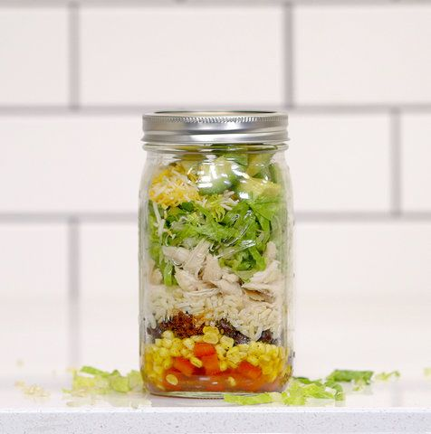 3 Mason Jar Meals That Make Lunchtime So Much Easier