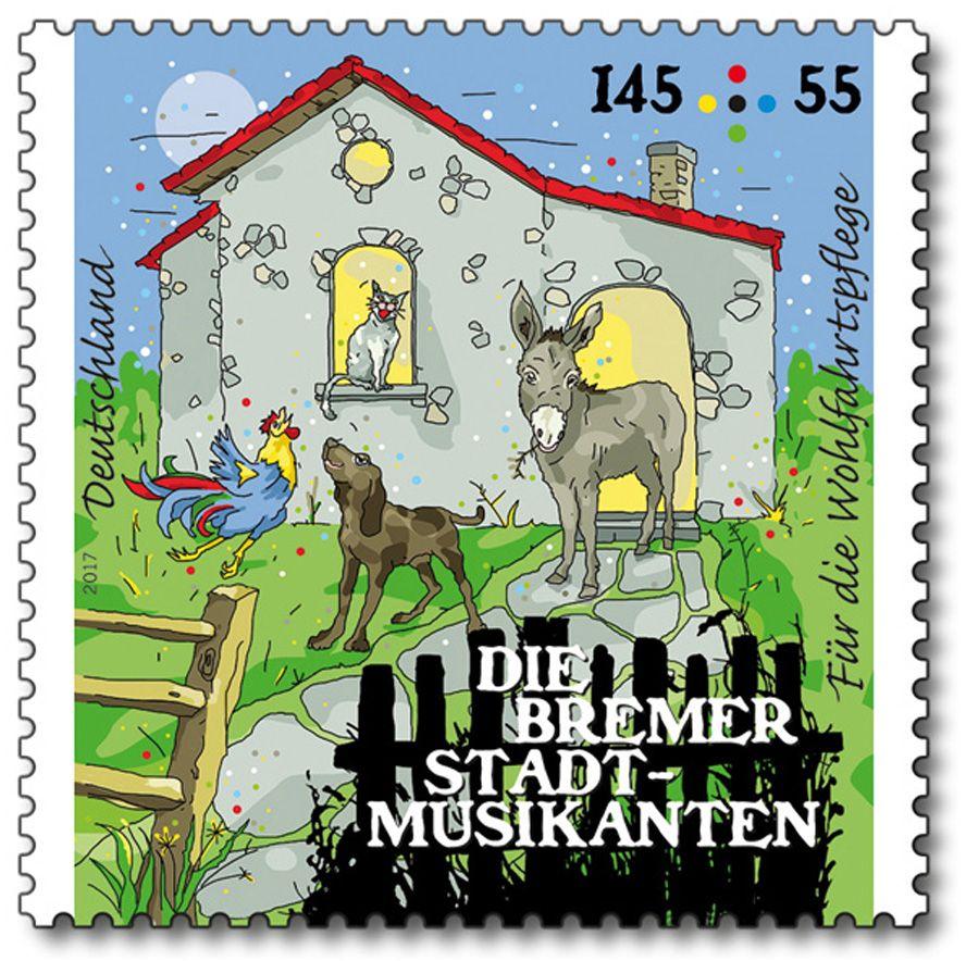 Deutschland 2017 Wohlfahrt Märchen der Brüder Grimm