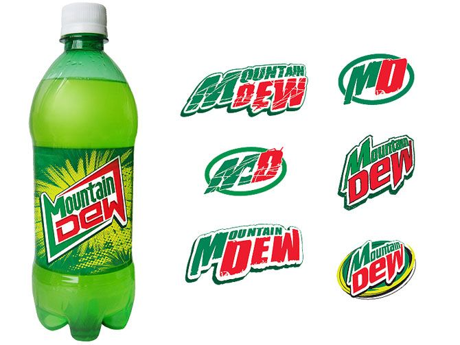 Image Gallery: mountain dew can logo