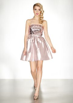 Wow Pink Metallic way cute!  On Ideeli today its a Betsy Johnson for $129