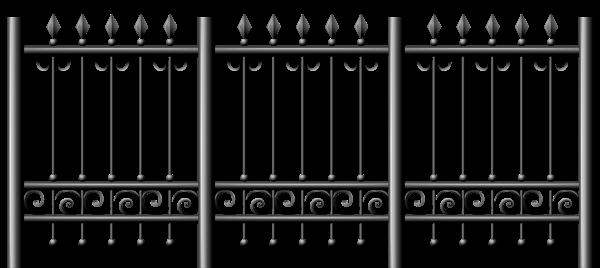 Transparent Iron Fence Png Clipart Clip Art Iron Fence Free Clip Art