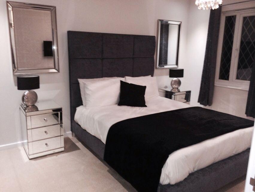 Luxury bedroom that feels like a hotel my diy bedroom for B q bedroom furniture