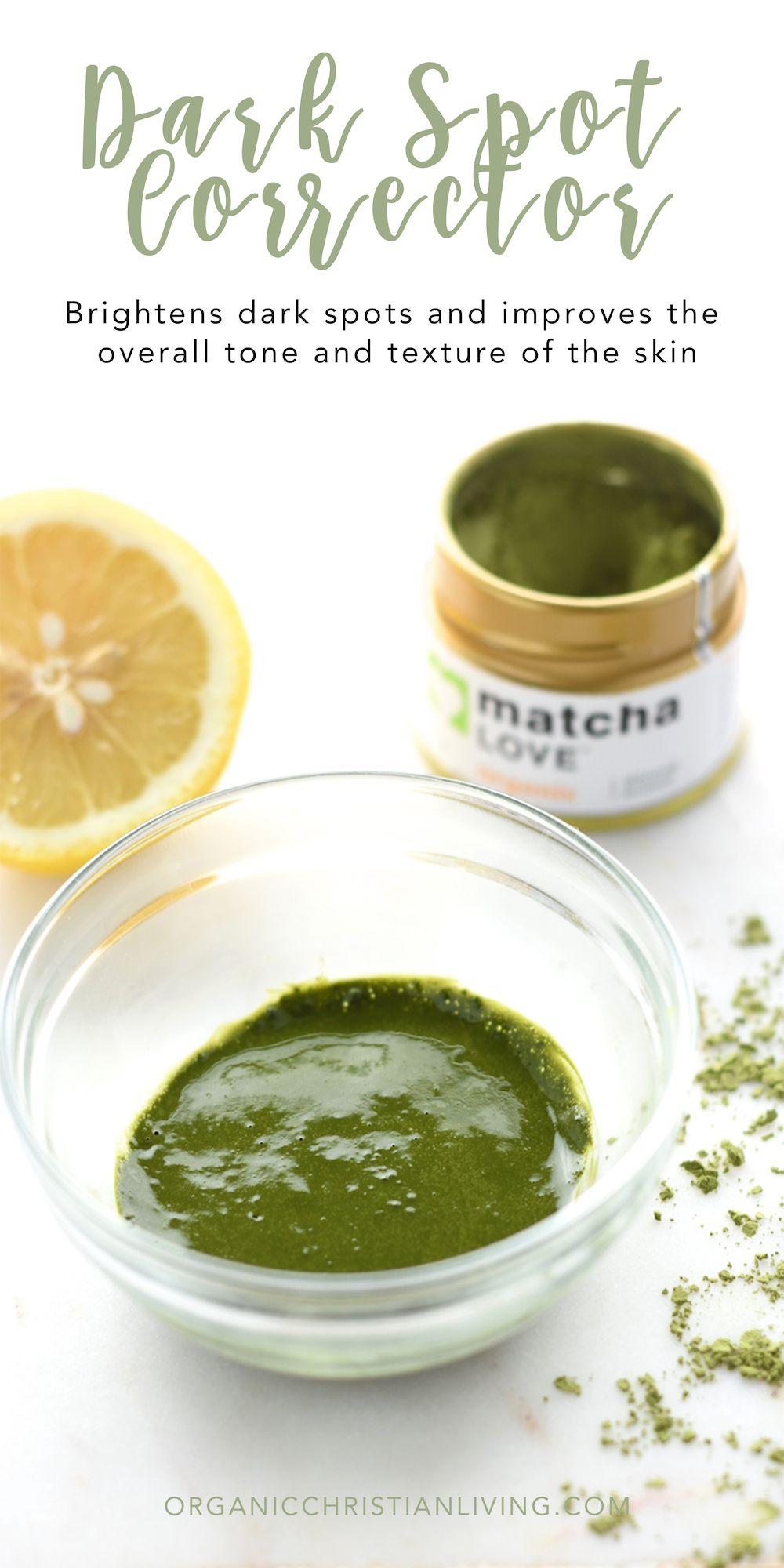 Matcha Green Tea Mask | Dark Spot Remover On Face | DIY Face Masks For Acne | Homemade Face mask | DIY Beauty | Lemon Juice For Acne | Lemon Juice For Dark ...