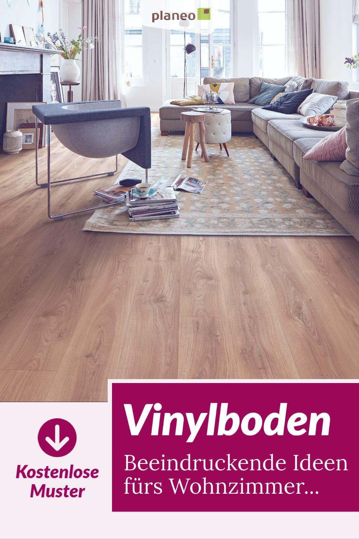 Vinylboden Fur Wohnzimmer In Fliesenoptik Holzoptik Steinoptik Zum Klicken Oder Kleben In 2020 Vinylboden Wohnzimmer Boden Wohnzimmer