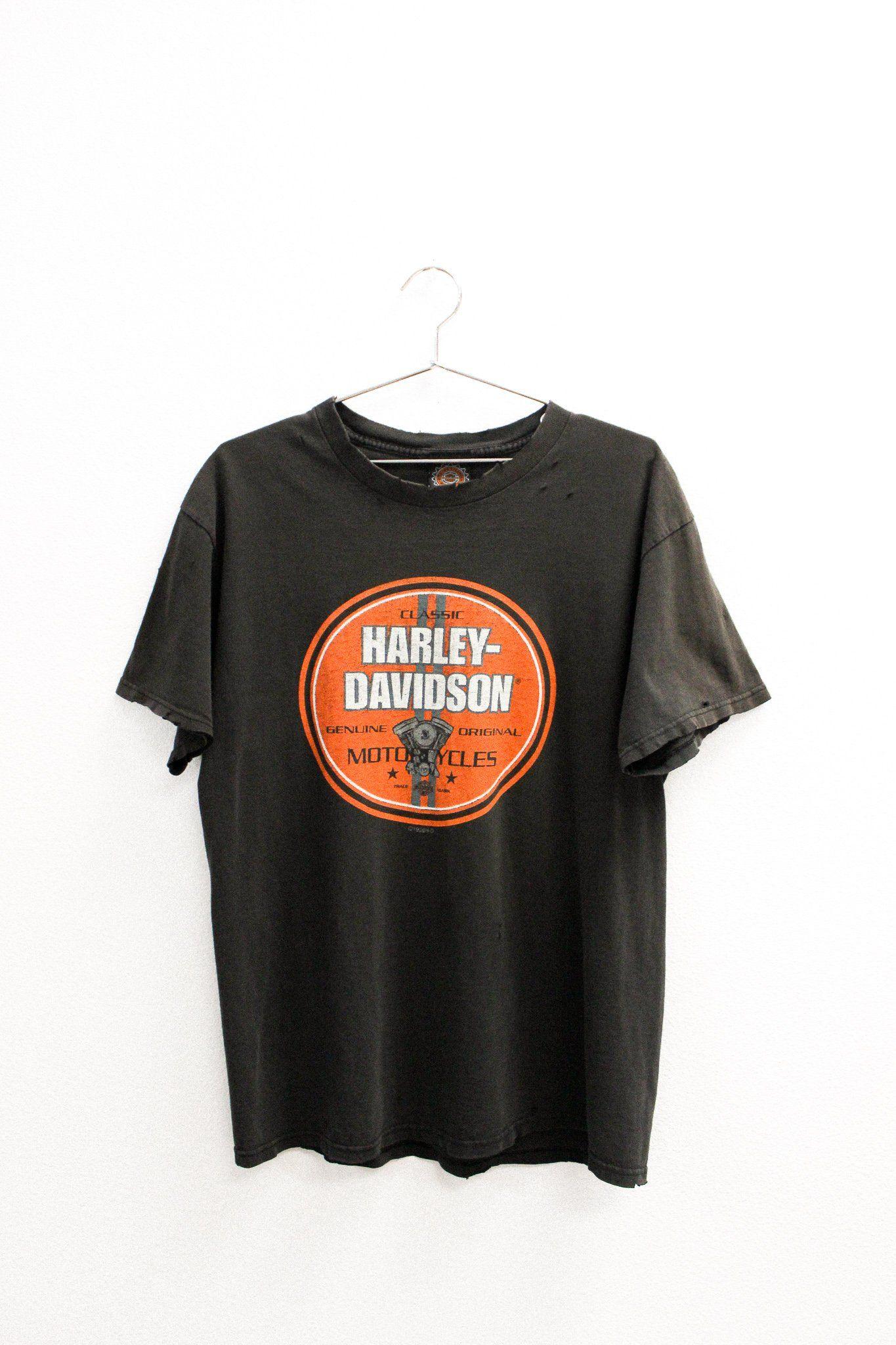 Harley-Davidson subtle graphic tee