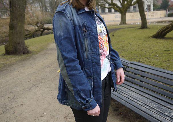 www.thedailyfashiondrug.com  #fashion #bloggers #personal #style #denim #parka