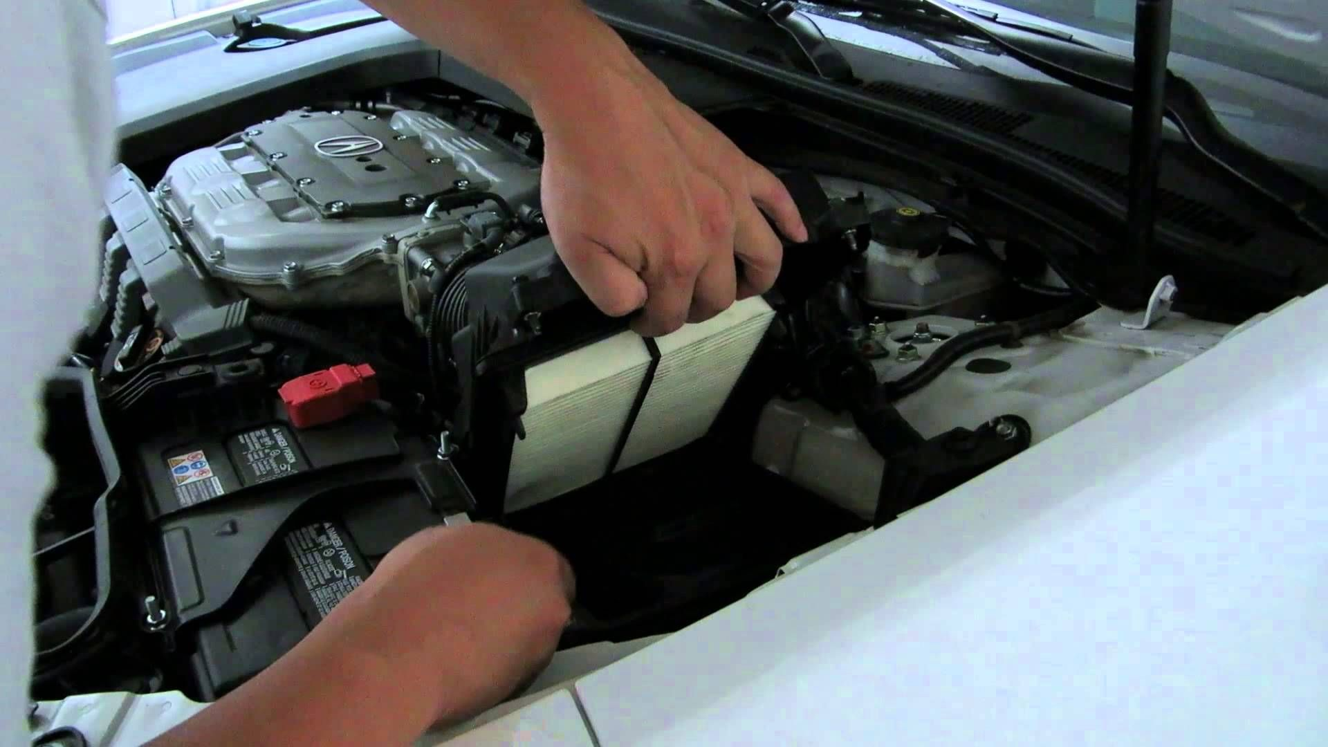 How to change the Engine Air Filter on the 20092014 Acura