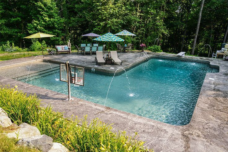 L Shape Inground Pool Kits Royal Swimming Pools Swimming Pools Inground Pool Houses Diy Swimming Pool