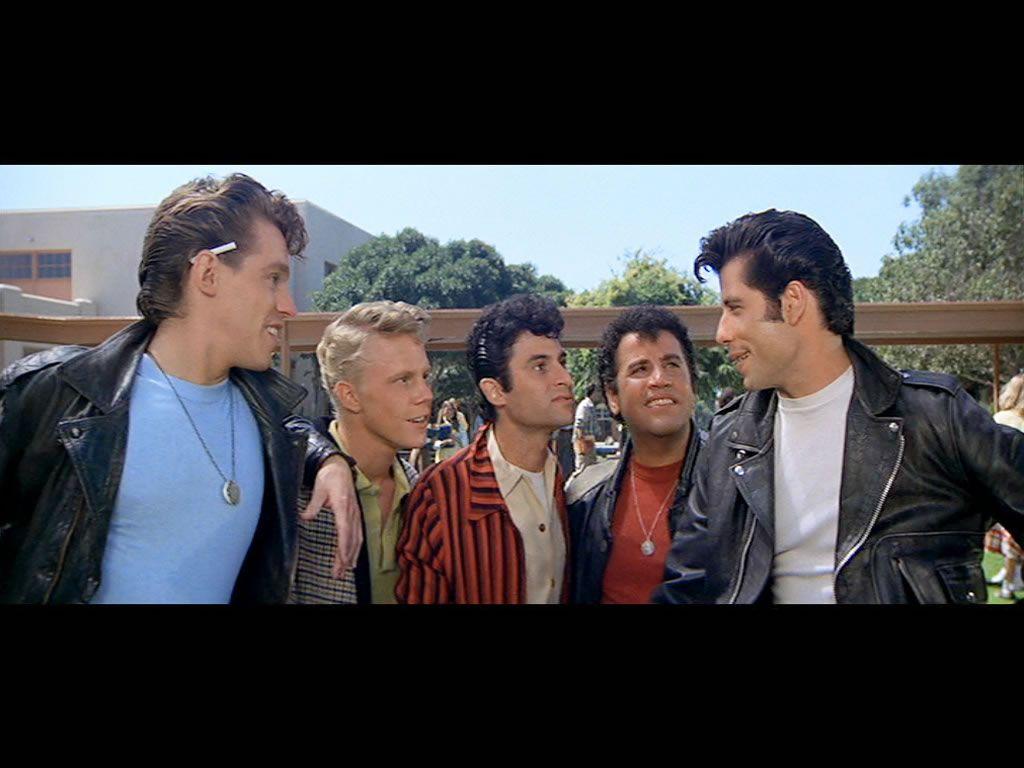 The T-birds - Kenickie, Putzie, Sonny, Danny