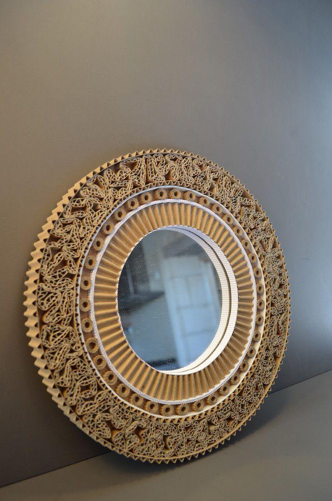 Miroirs En Carton Artisanat En Carton Cadre En Carton Carton