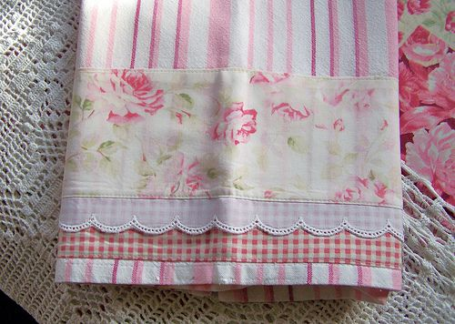 Decorative Shabby Chic Tea Towels Divine Decorative Tea Towel For A Shabby Chic Kitchen Wonderful Pretty Tow Shabby Chic Tea Decorative Tea Towels Tea Towels