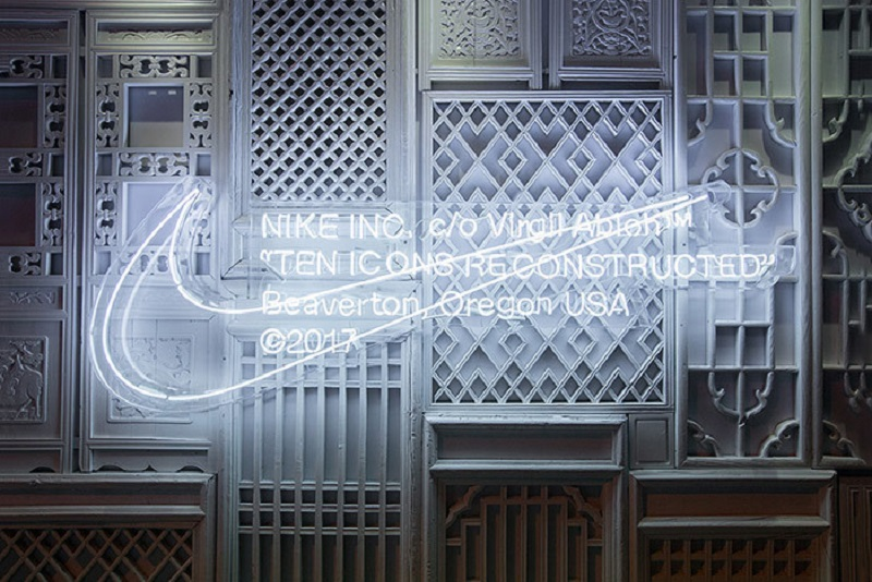 Check Out Nike Shanghai S Off White Pop Up Shop Store Design