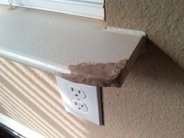 Wood Epoxy Fixes Around The House Wood Repair Window Sill Window Sill Decor