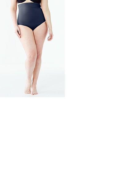 a93a74813f Women s Plus Size Beach Club High Waist Bikini Bottom with Tummy Control  from Lands  End