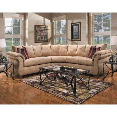 Show details for Rae 2PC Camel Sectional