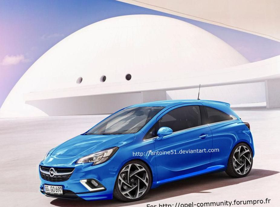 Opel Corsa Opc Specifications Http Autotras Com