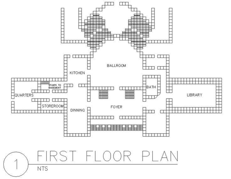 floor schematic minecraft
