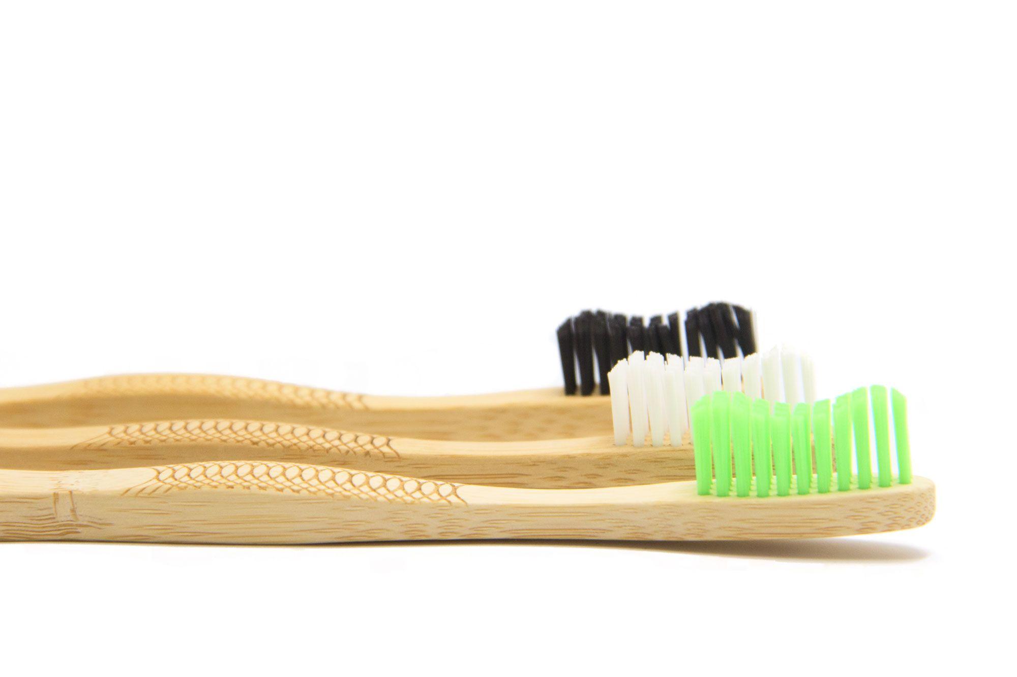 Pack Brushboo 3 Cepillosdebambu Cepillado Dental Dental Cepillo