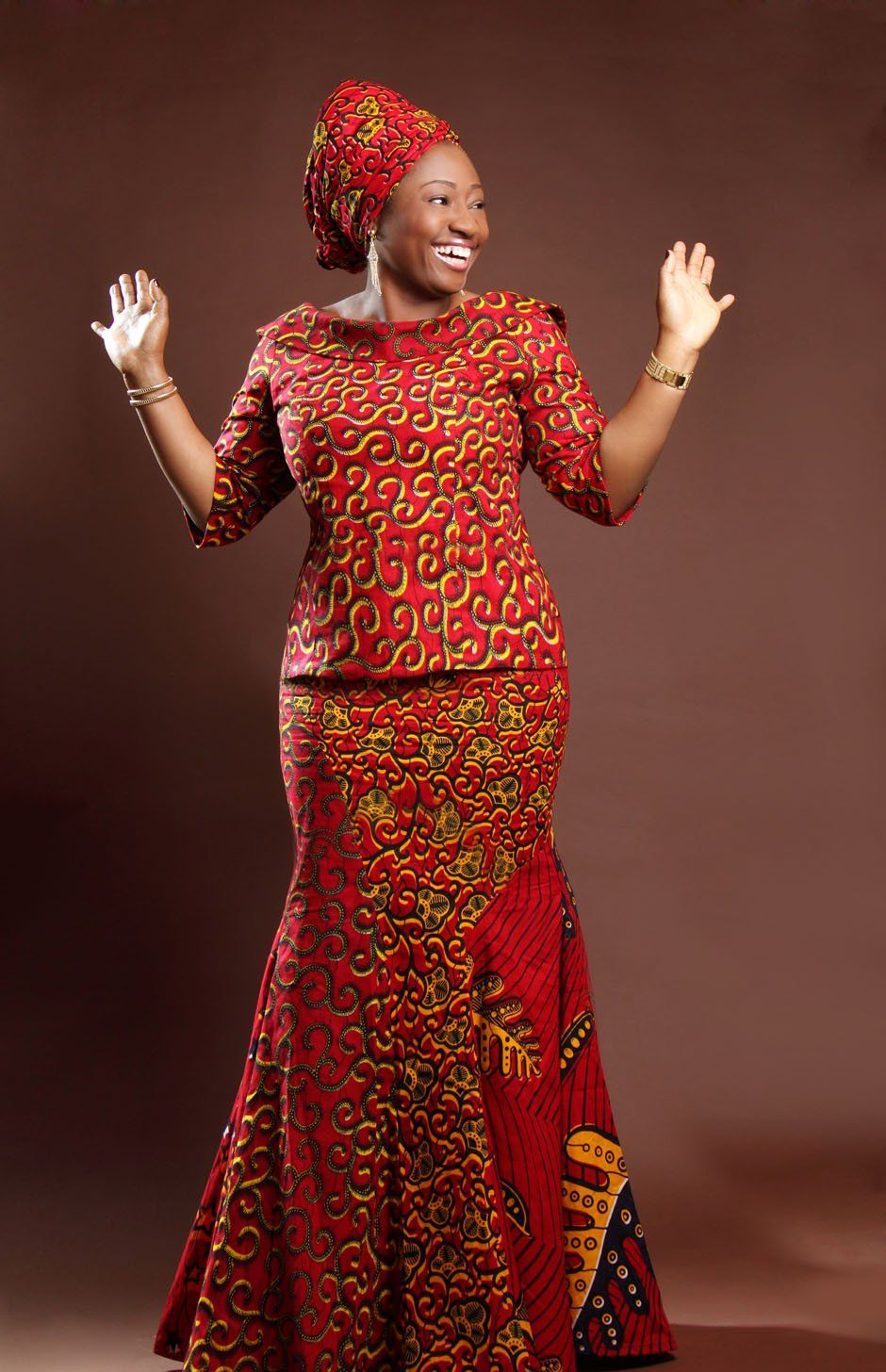 ANKARA STYLES FOR THE OLDER WOMEN | African traditional ...