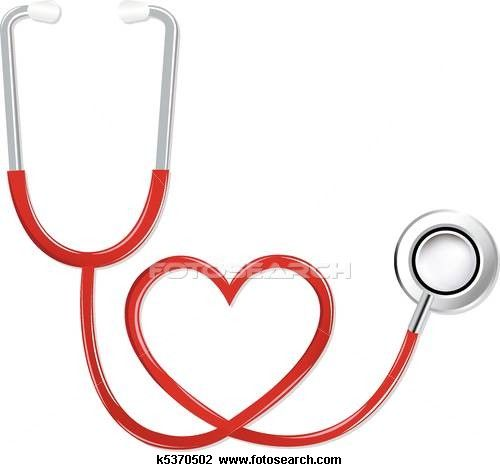 Isolated Doctor S Stethoscope In Heart Shape Red Color On White Heart Shapes Doctors Stethoscope Red Color