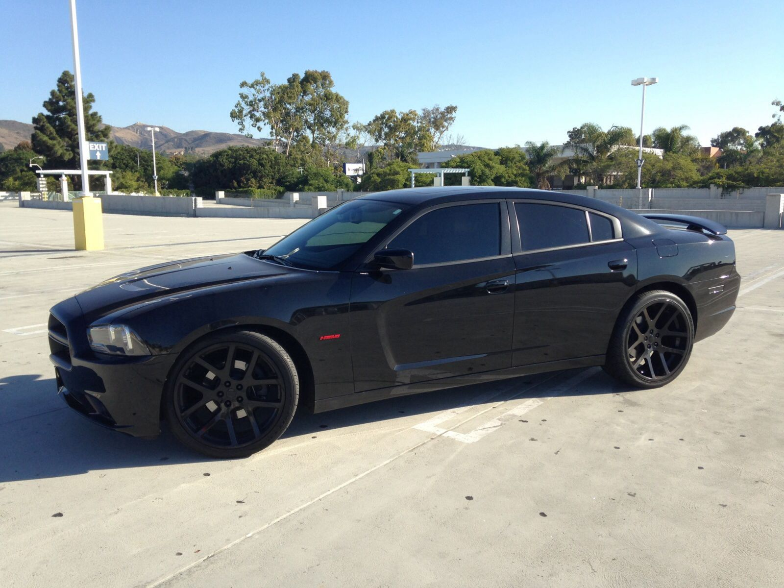 Blacked Out 2012 Dodge Charger Modern Muscle Cars Dodge Charger