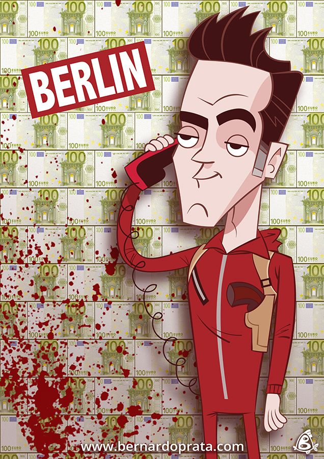 Berlin Money Heist Berlin Money Heist Wallpaper