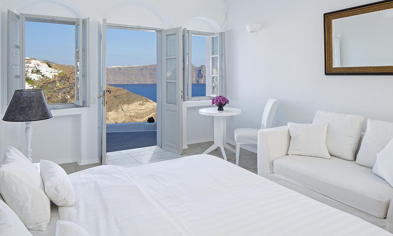 Santorini, Santorini Luxury Villas, Luxury Villa Carol Photos Gallery