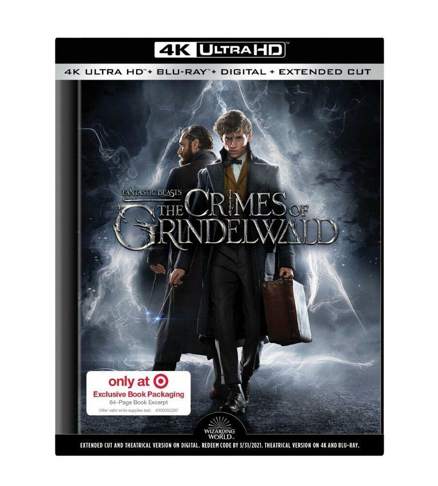 Fantastic Beasts The Crimes of Grindelwald Target (4k/Blu