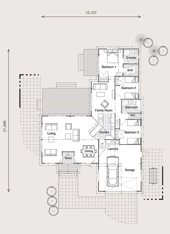 Home Building, Wooden Floor & Timber Frame House Plans New Zealand ...