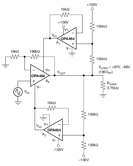 Extending Op Amp Voltage Range By Dynamically Moving Supply Voltage