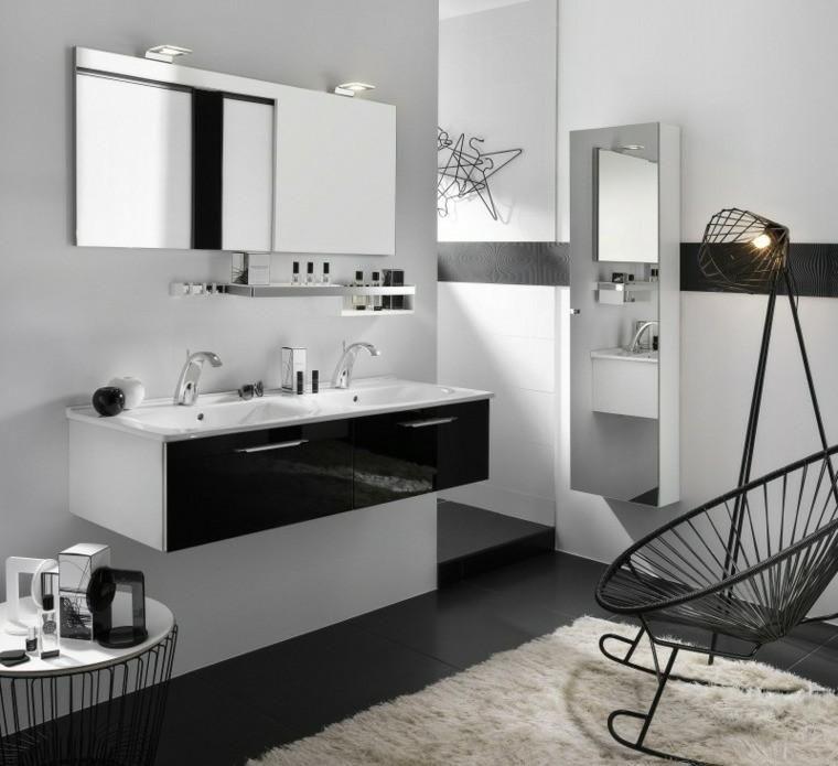 Schwarz, Grau Und Braun Im Badezimmer   50 Designs #Schwarz, #Grau #