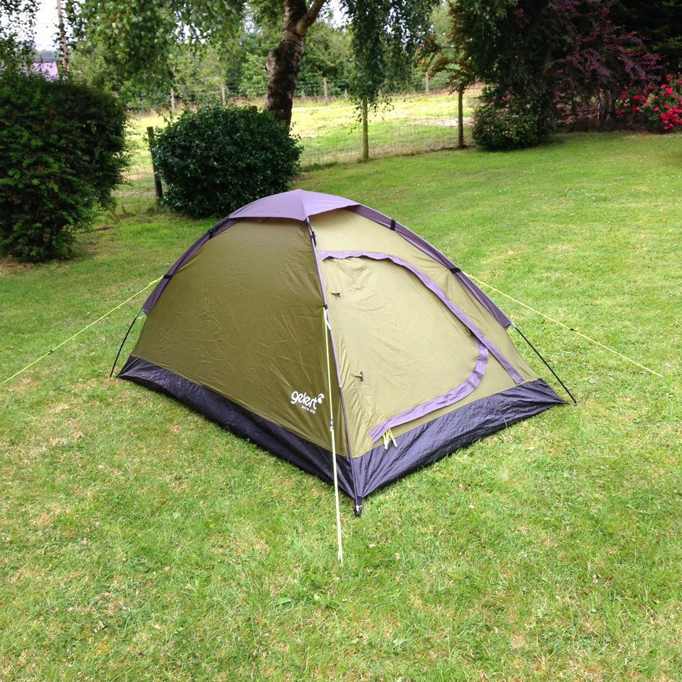 Gelert Scout 2 Man Tent Lightweight Small C&ing Festival Light weight & Gelert Scout 2 Man Tent Lightweight Small Camping Festival Light ...