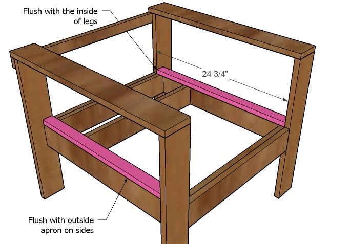 How To Make A Wood Chair Frame   Free Plans To Build A Brooklyn Chair With  Cutu2026
