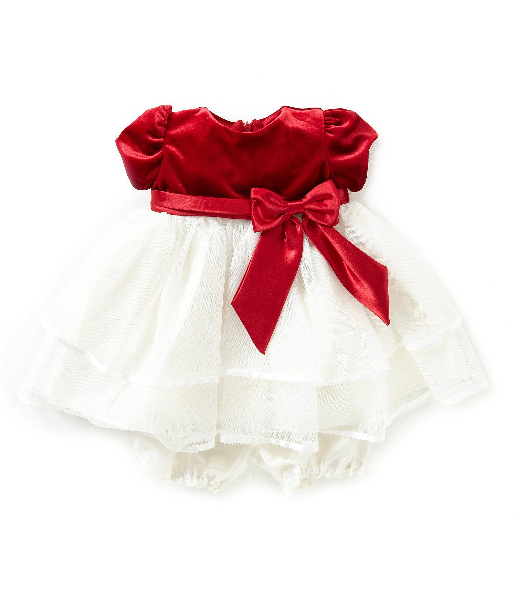 Jayne Copeland 3 24 Months Tiered Christmas Holiday Dress