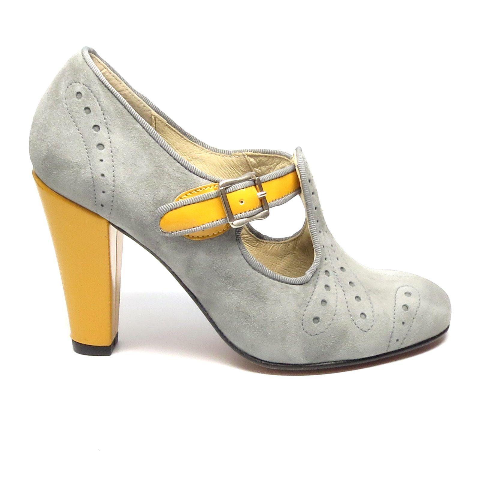 Fashion Dcollet Scarpe Donna Scarpe da sera tacco alto 7lvi ROSSO 36