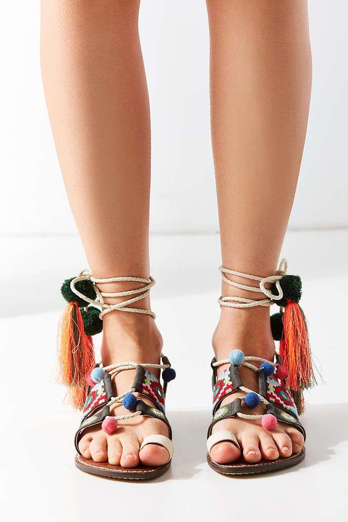 d4169a06886eee Sam Edelman Gretchen Tassel Sandal - Urban Outfitters