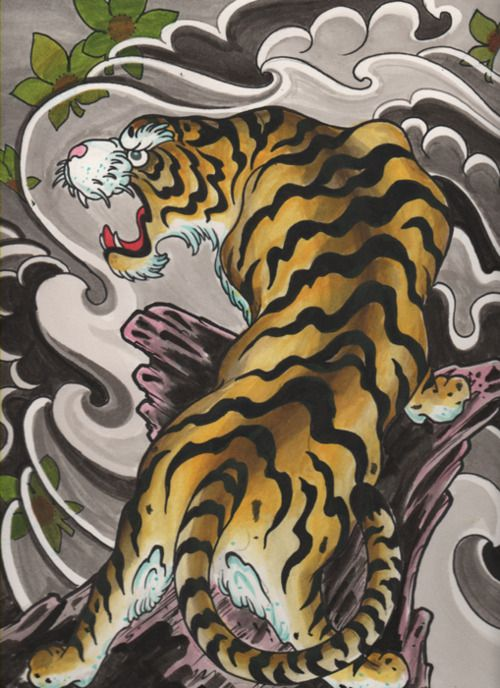 c2dabbead5c4f 60 Tatuagens de tigres - Semana Oriental | Projetos para ...