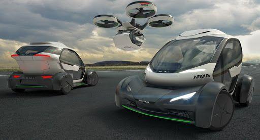 Italdesign \u0026 Airbus Debut Flying Pop.Up Car Concept In
