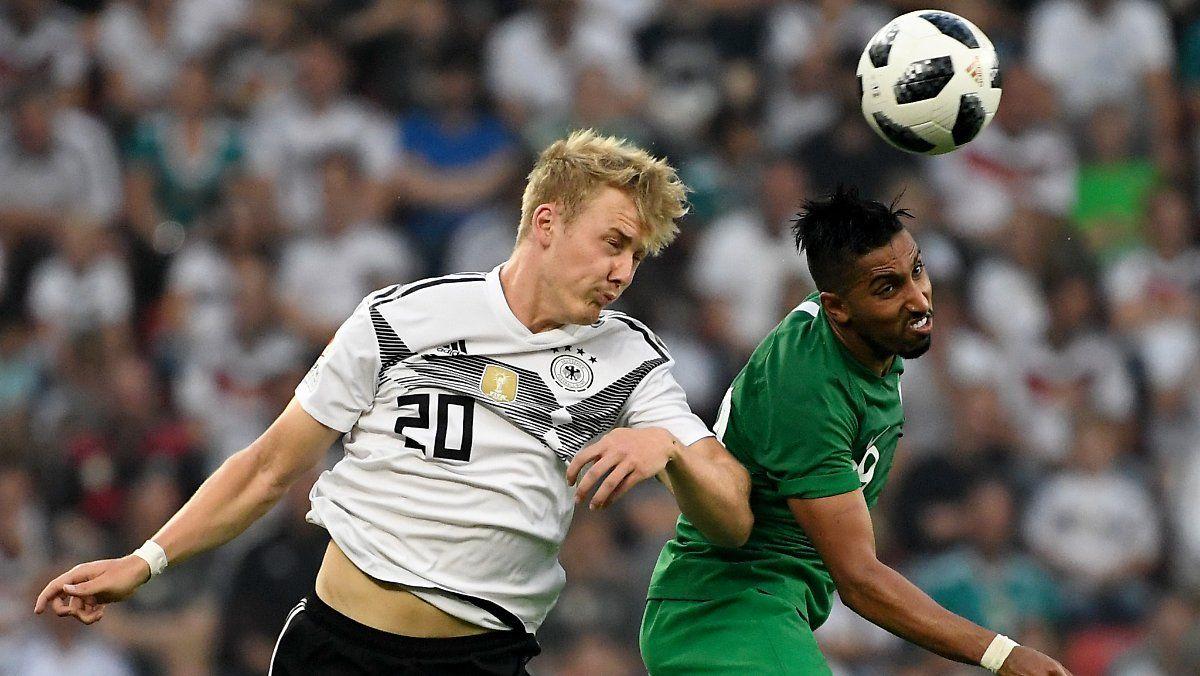 Kritik An Julian Brandt Stosst Auf Unverstandnis Dfb Team Fussball Bundesliga